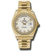 Ρολεξ (Rolex) Day-Date II 2 President Yellow Gold Ivory Dial...