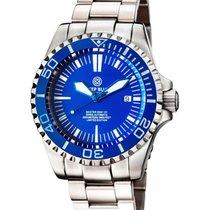 Deep Blue Master 2000 Automatic Diver Swiss Eta 2824-2 Blue...