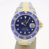 Rolex Submariner Date Steel/Gold  BlueDial (B&P2001) 40mm...
