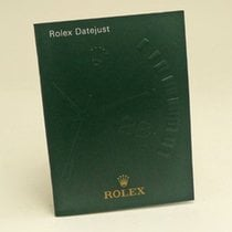 Rolex Datejust Manual Info Booklet 2010 German