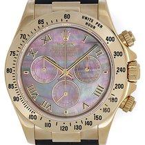 Rolex Cosmograph Daytona Men's 18k Yellow Gold Watch...