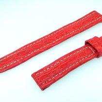 Breitling Band 15mm Croco Red Roja Strap Correa Ib15-39