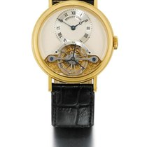 Breguet | A Fine yellow Gold Tourbillon Wristwatch Ref 3350 No...