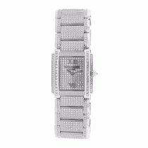 Patek Philippe 24 Twenty-4 Medium 18K Solid White Gold Diamonds