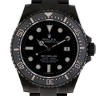 Rolex Sea-Dweller Black Edition JRH Stahl DLC schwarz Keramik...