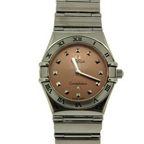 Omega Constellation My Choice Small Stainless Steel Watch...