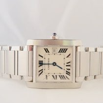 Cartier Tank Francaise Steel Medium Size Quartz Ref 2465