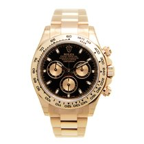 Rolex Daytona 18k Rose Gold Black Automatic 116505BK