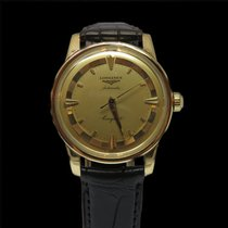 Longines Conquest Or jaune 18k automatique vers 1956 . 35mm