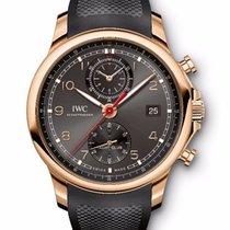 IWC Portuguese Yacht Club Chronograph Rose Gold Ardoise Dial