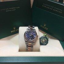 勞力士 (Rolex) Datejust Steel/Gold , purple dial with diamonds on...