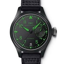 IWC IW501903 Big Pilots TOP GUN in Black Ceramic - Boutique...