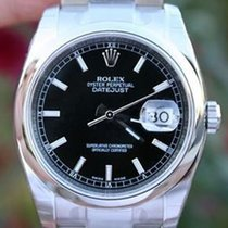 Rolex Watch Mens Datejust 116200 36mm Stainless Steel Year...