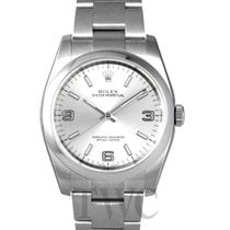 Rolex Oyster Perpetual Silver/Steel Ø36 mm - 116000