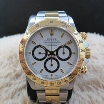"Rolex DAYTONA 16523 Original White ""Inverted 6"" Dial..."