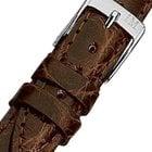 Morellato A01X2197052034CR20 braunes Krokodil Uhrenarmband 20 mm