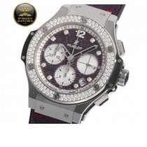 Hublot - BIG BANG JEANS PURPLE DIAMONDS