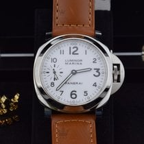Panerai PAM00113    Luminor Marina White Dial