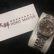 勞力士 (Rolex) Lady Datejust 18k Rose Gold And Steel Brown 279381RBR