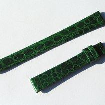 Chopard Croco Band Strap Green 12 Mm 65/105 New C12-5 -70%