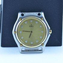 Ebel Classic Wave Damen 28mm Stahl/gold Rar Ohne Armband 2