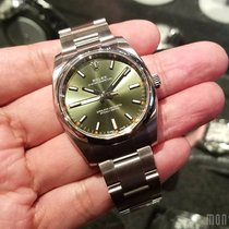 Rolex 114200 Olive Green Dial (888) Oyster Perpetual 34mm