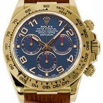 Rolex Cosmograph Daytona 116518 116518-BLU Navy Blue Arabic...