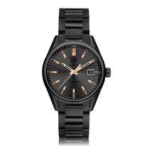 TAG Heuer Carrera Quartz Titanium Grey Dial Ladies Watch...