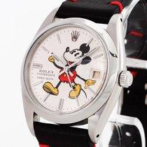 Rolex Oysterdate Precision Mickey Mouse Handaufzug Ref. 6694