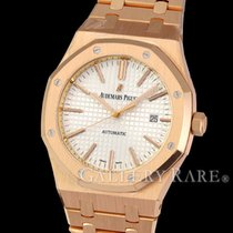 오드마피게 (Audemars Piguet) Royal Oak Automatic Date Pink Gold...