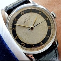 Omega Wonderful Vintage Omega with two tone Bullseye dial 1945