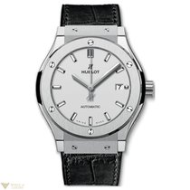 Hublot Classic Fusion Automatic Titanium Leather Men's Watch