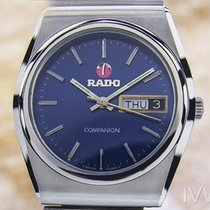 Rado Mens Rare Swiss Made 1970 Companion Vintage Beautiful...
