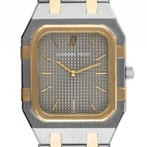 Audemars Piguet Jumbo Royal Oak Rectangular Stahl Gelbgold...