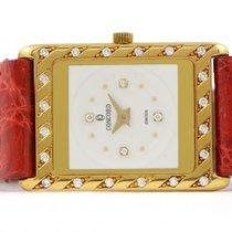 Concord Ladies Concord Decorative Diamond Bezel & Dial 18k...