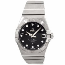 Omega 123.10.38.21.51.001 Constellation Co-Axial 38MM Diamond...