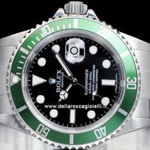 Rolex Submariner Date Green Bezel 50th  Watch  16610LV