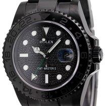 Ρολεξ (Rolex) Rolex GMT-Master II Black PVD with Black Pavé...
