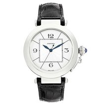 Cartier W3019851 Pasha de Cartier 42mm in White Gold - on...