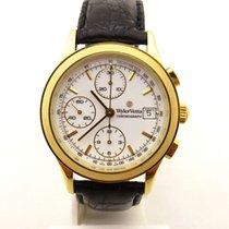 Wyler Vetta chronograph oro massiccio 18 kt automatic  valjoux...