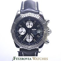 Breitling Chronomat Evolution Black Dial Strap A13356