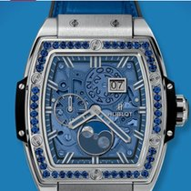 Hublot MOONPHASE TITANIUM BLUE SPIRIT BIG BANG 647NX5171LR1201