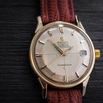 Omega Constellation Pie Pan Vintage '66 Steel/Gold