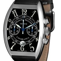 Franck Muller Casablanca Chronograph Watch with Black Dial