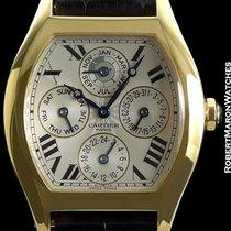 Cartier Paris Tortue Automatic Perpetual Calendar 18k