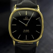 Omega Deville 1365 Mens Swiss Accuset Quartz Gold-Plated Watch...