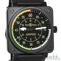 Bell & Ross Airspeed LE Flight Instrument Watch Steel...