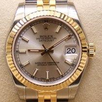 Rolex Datejust, Ref. 178273 - silber Index Zifferblatt/Jubilee...