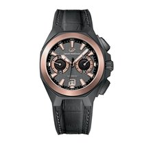 Girard Perregaux Chrono Hawk Hollywoodland 18K Rose Gold