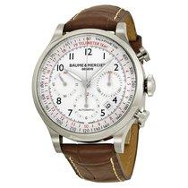 Baume & Mercier Men's MOA10082 Capeland White Dial...